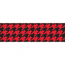 Houndstooth Red Bolder Borders®