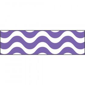 Wavy Purple Bolder Borders