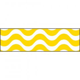 Wavy Yellow Bolder Borders®