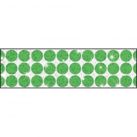 Big Dots Green Bolder Borders® – Sparkle Plus