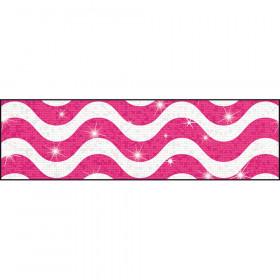 Wavy Pink Bolder Borders® – Sparkle Plus