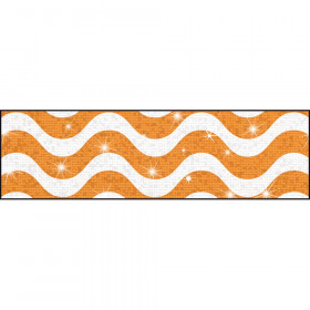Wavy Orange Bolder Borders® – Sparkle Plus
