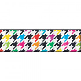 Houndstooth Multicolor Bolder Borders® – Sparkle Plus