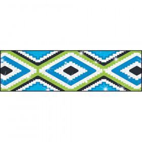 Aztec Blue Sparkle Plus Bolder Borders, 32.5'