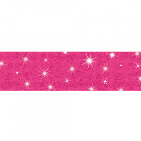 Hot Pink Bolder Borders® – Sparkle