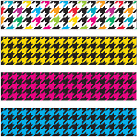 Houndstooth Mix Bolder Borders® Variety Pack