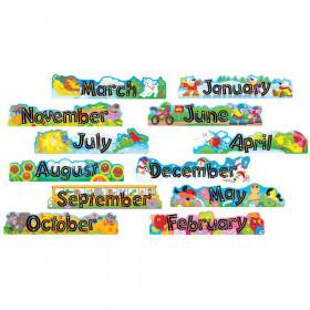 Alpha-Beads 12 Monthly Headers Bulletin Board Set