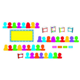 Showtime Pockets Mini Bulletin Board Set