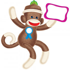 Sock Monkeys Bulletin Board Set