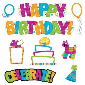 Wipe-Off Birthday Mini Bb St Color Harmony