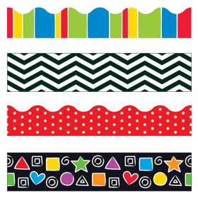 Stripes & Shapes Terrific Trimmers, Variety Pack