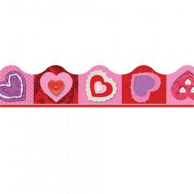 Scrapbook Hearts Terrific Trimmers, 39 ft