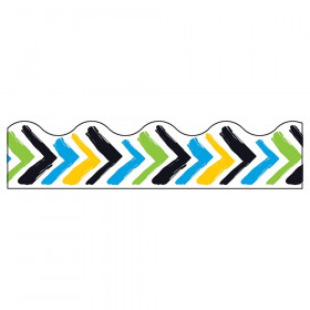 Bold Strokes Chevron Terrific Trimmers, 39'