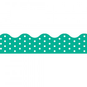 Polka Dots Teal Terrific Trimmers®