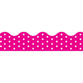 Polka Dots Pink Terrific Trimmers, 39 ft