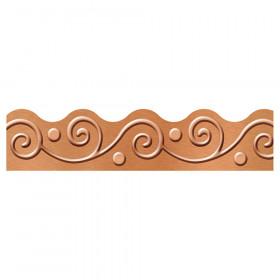 I  Metal Copper Scrolls Terrific Trimmers, 39'