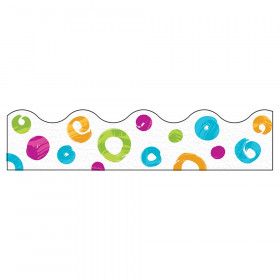 Color Harmony Swirl Dots Terrific Trimmers, 39'