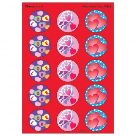 Valentine's Day/Cherry Stinky Stickers, 60 ct.