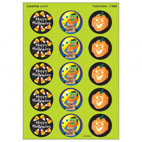 Halloween/Licorice Stinky Stickers, 60 ct.