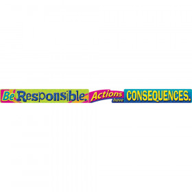Be Responsible. Actions have? ARGUS? Banners