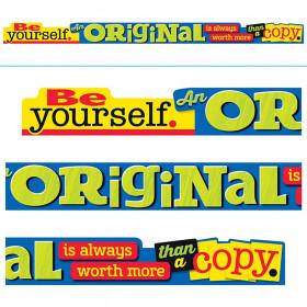 Be yourself. An ORIGINAL is… ARGUS® Banner – 10 Feet