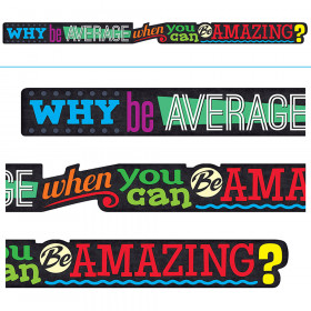 WHY be AVERAGE when you can… ARGUS® Banner – 10 Feet