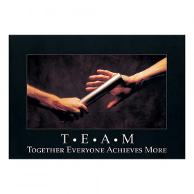 "T*E*A*M: Together Everyone... ARGUS Poster, 13.375"" x 19"""