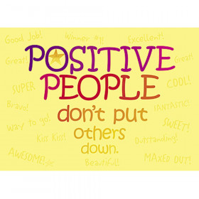 Positive people don't put? ARGUS? Poster