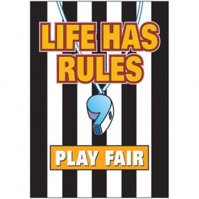 Life has rules, play fair ARGUS® Poster