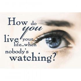 How do you live your life… ARGUS® Poster