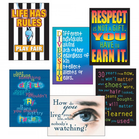 Building Character ARGUS® Posters Combo Pack