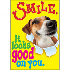 SMILE. It looks good on you. ARGUS® Poster