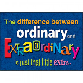 The difference between ordinary… ARGUS® Poster