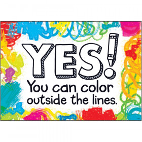 Yes! You can color outside… ARGUS® Poster