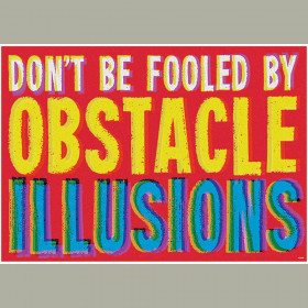 DON'T BE FOOLED BY OBSTACLE... ARGUS® Poster