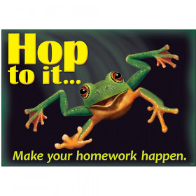 Hop to it... Make your homework... ARGUS® Poster