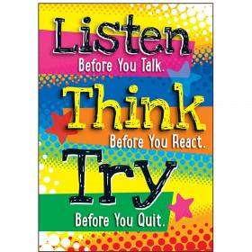 Listen Before You Talk... ARGUS® Poster