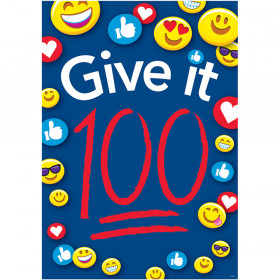 Give It 100 Argus Poster