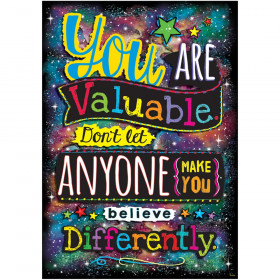 You ARE Valuable. Don't Let... ARGUS Poster