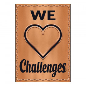 """We  Challenges ARGUS Poster, 13.375"""" x 19"""""""