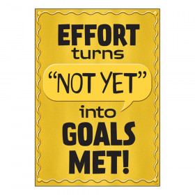 "Effort Turns Not Yet into... ARGUS Poster, 13.375"" x 19"""