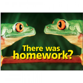 There was homework? ARGUS® Poster