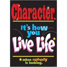 """Character-it's how you... ARGUS Poster, 13.375"""" x 19"""""""