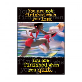 """You're not finished when... ARGUS Poster, 13.375"""" x 19"""""""