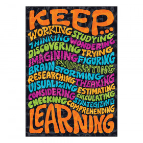 "Keep... Learning ARGUS Poster, 13.375"" x 19"""
