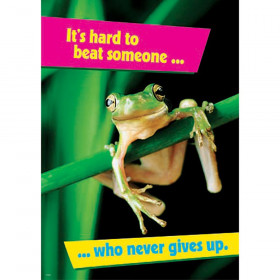 It's hard to beat someone… ARGUS® Poster