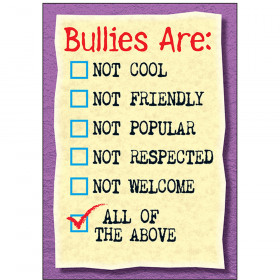 Bullies are: Not cool… ARGUS® Poster