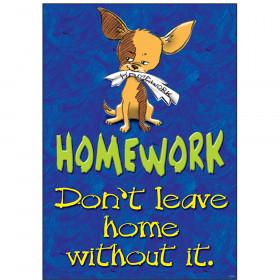 Homework: Don't leave home… ARGUS® Poster