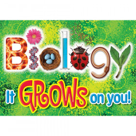 Biology It Grows On You Argus Large Poster