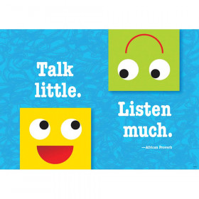 Talk little. Listen much. ARGUS® Poster
